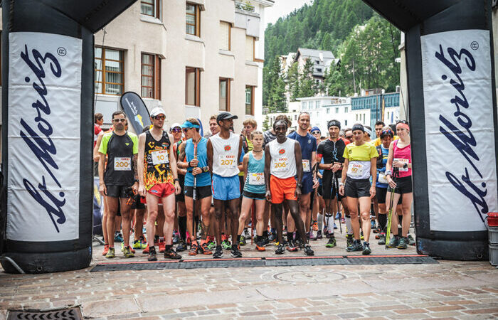 Vertical Sommerlauf, Start